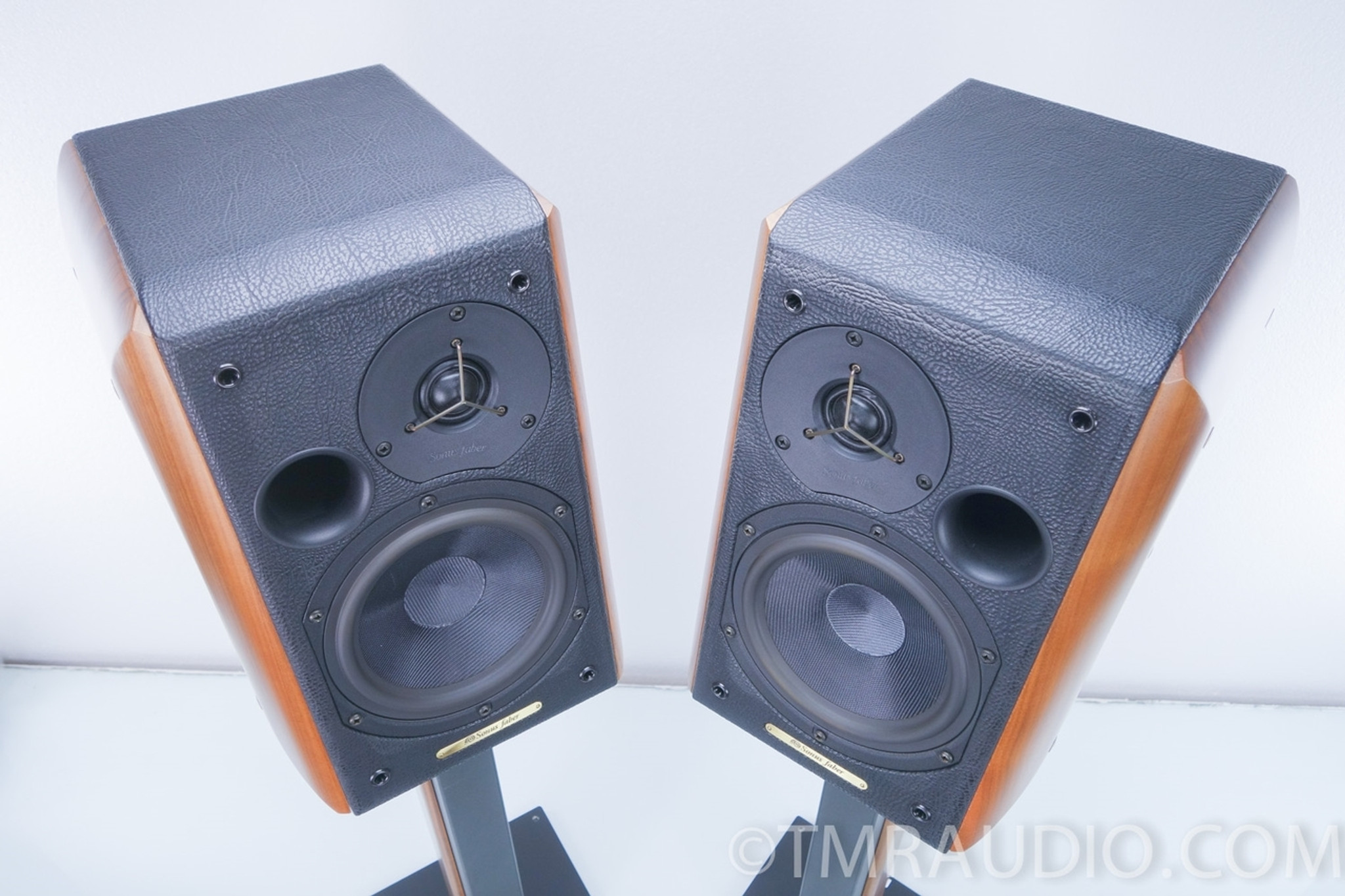 sonus faber concerto bookshelf speakers with stands - the music room