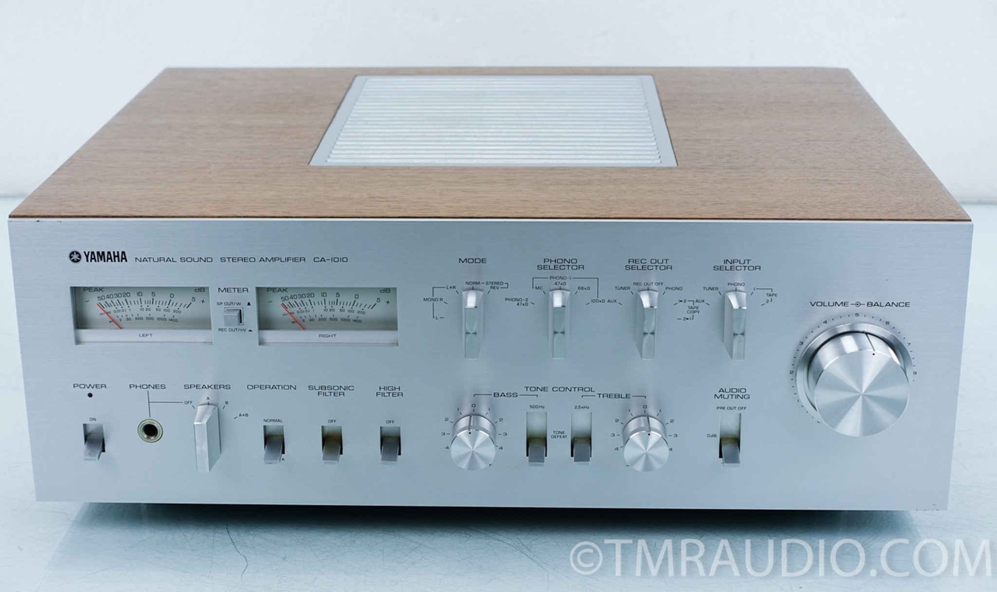 Yamaha CA-1010 Vintage Stereo Integrated Amplifier - The ...