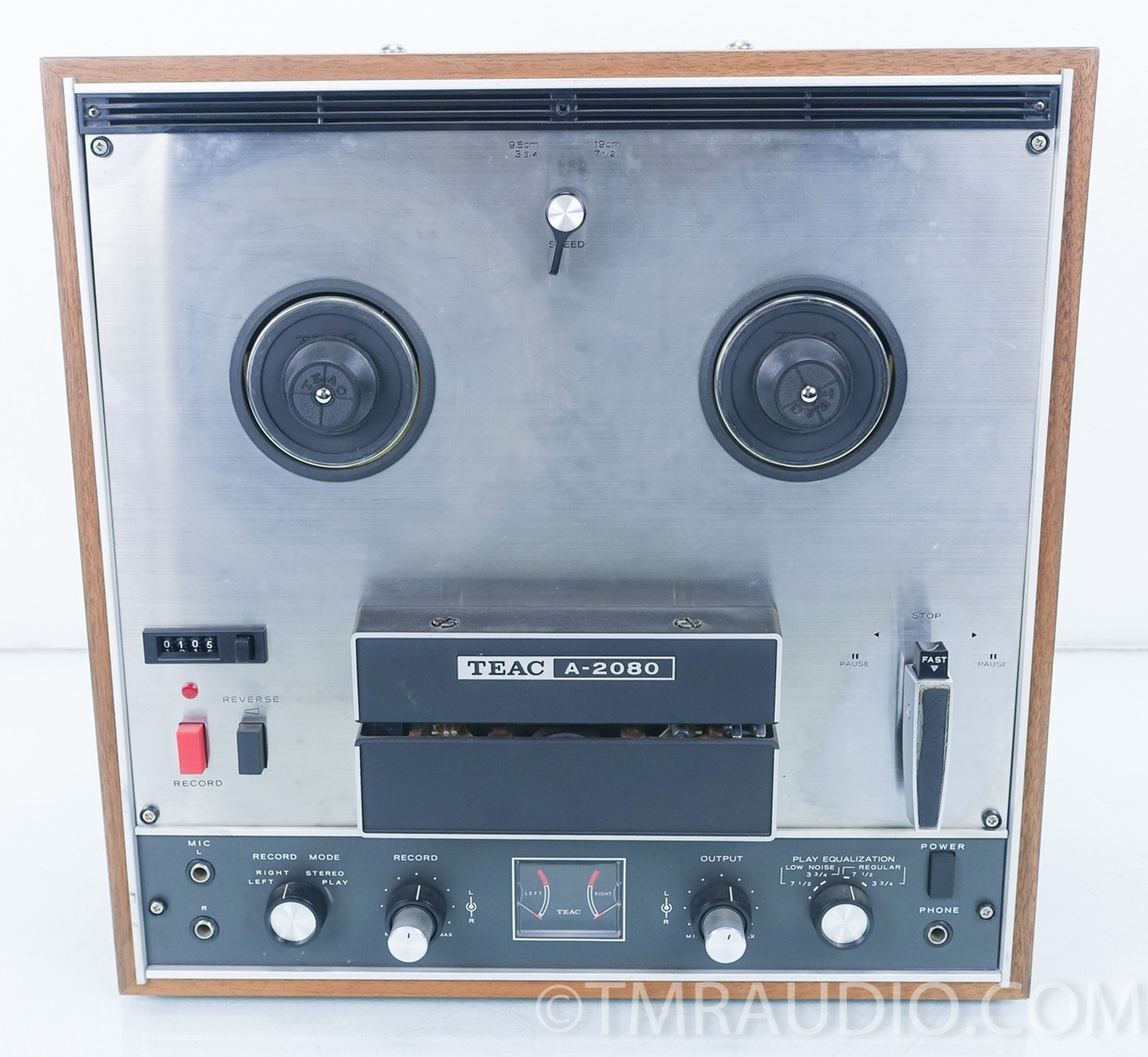 Teac A 2080 Reel To Tape Recorder In Factory Box As Is The Room