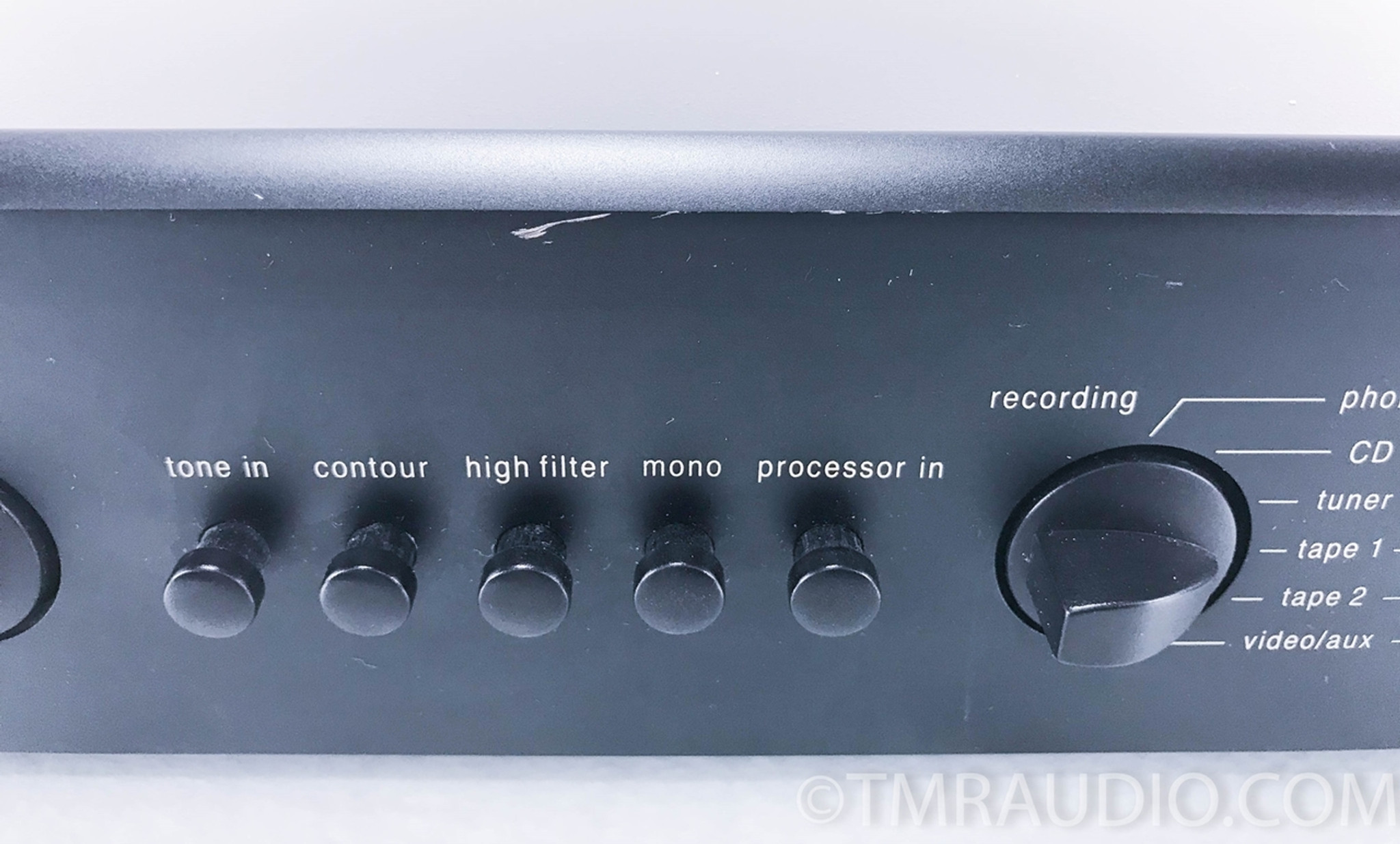 Adcom Gfp 565 Stereo Preamplifier 1 The Music Room Audio