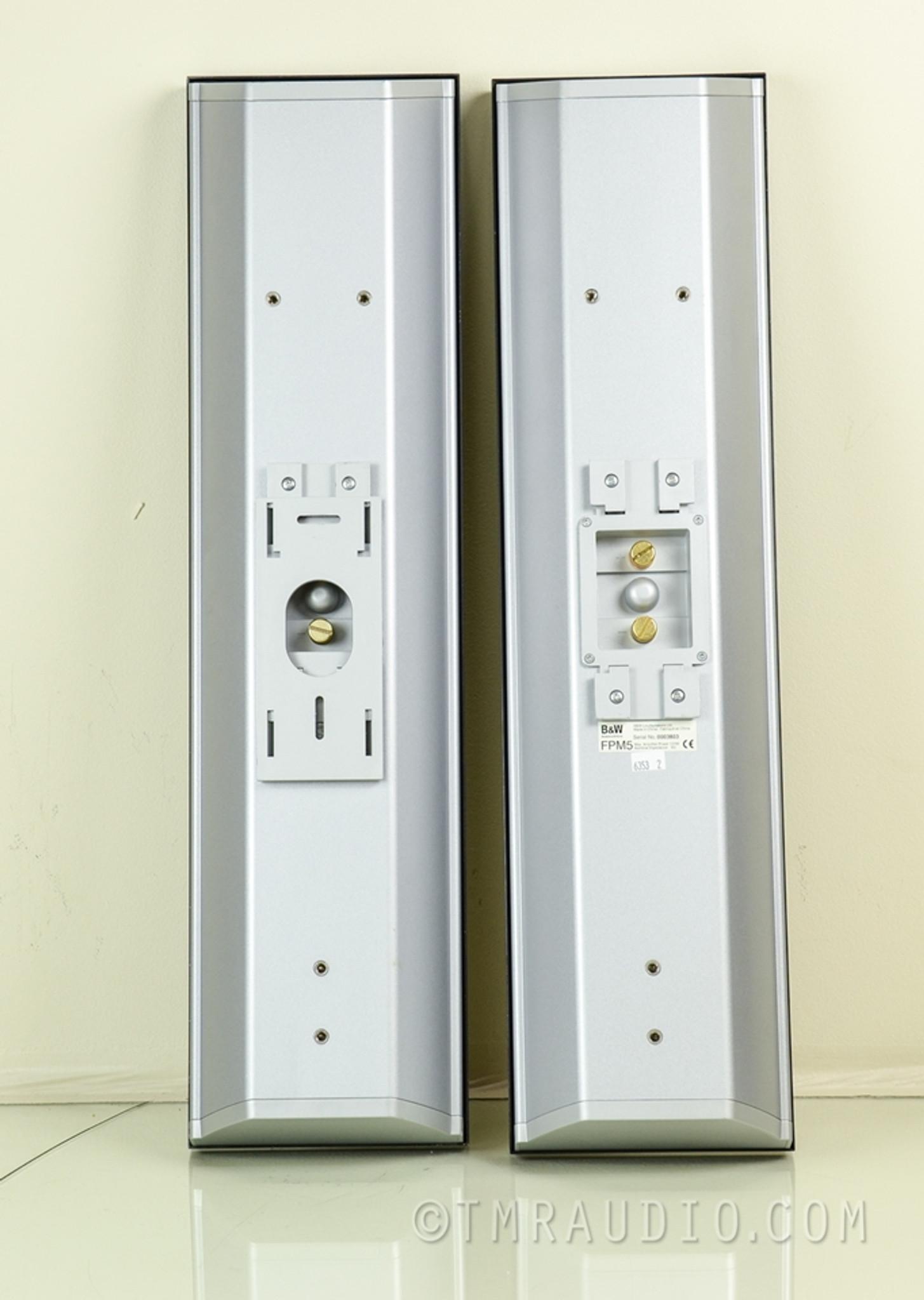 B Amp W Fpm5 Flat Panel Audiophile Speakers Bowers Amp Wilkins