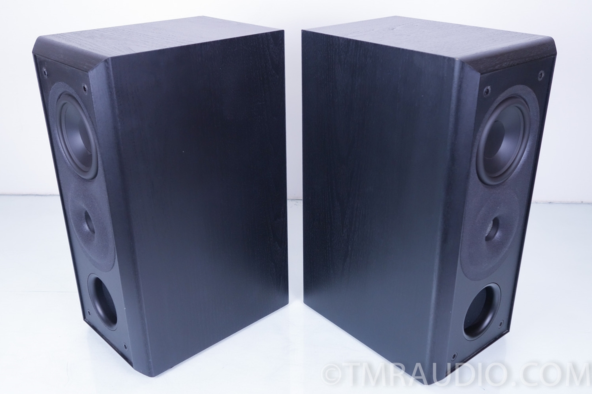 Acoustic Research 308 HO Bookshelf Speakers Excellent Pair