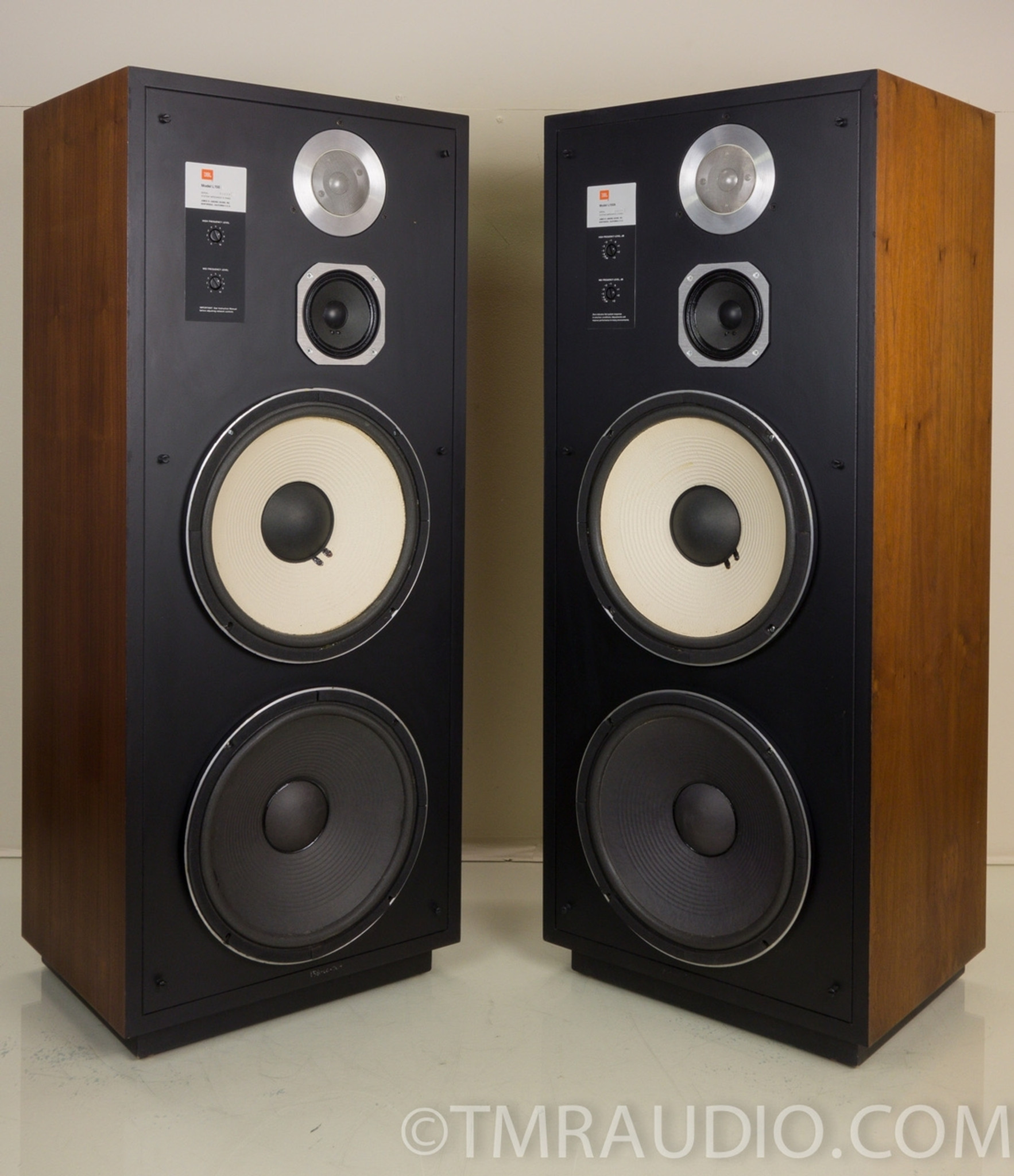 Jbl L150a Vintage Floorstanding Speakers Near Mint In