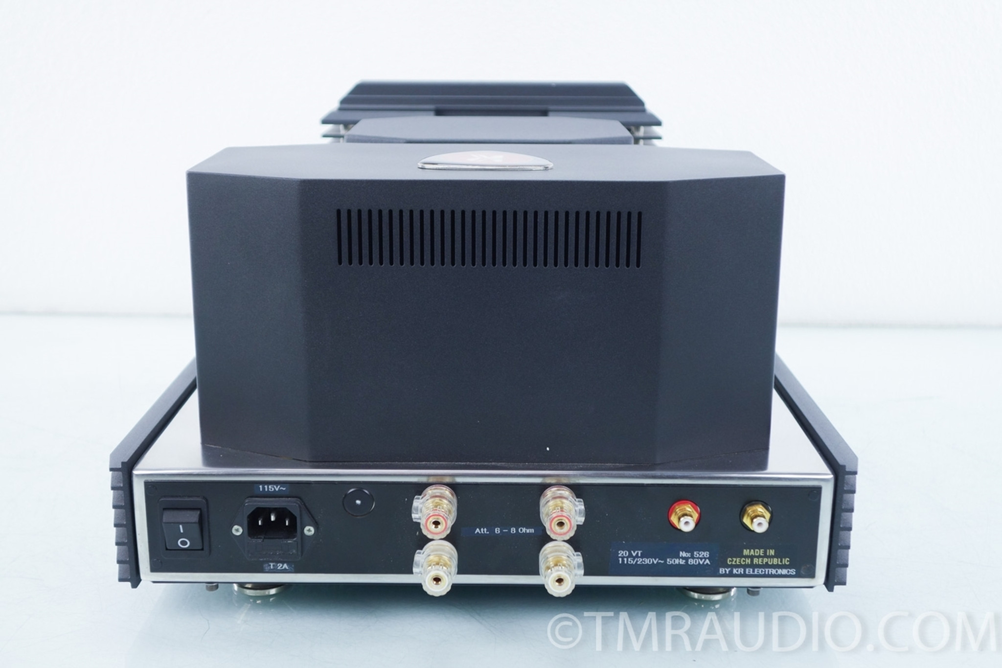 Kr Audio Vt 20 Tube Transistor Amplifier The Music Room Amplifiers