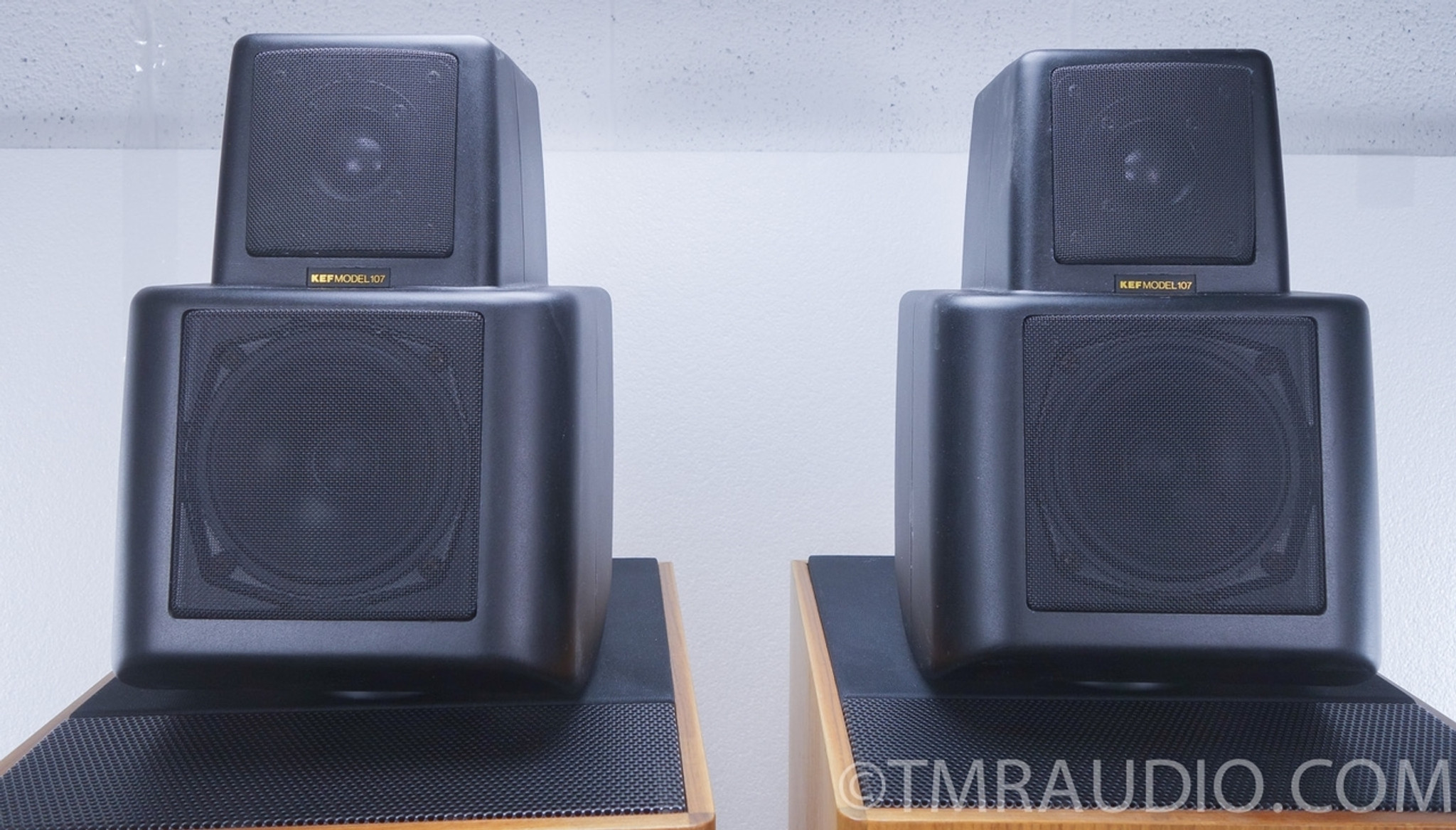 Kef Reference 107 2 Speakers With Kube As Is The Music Room