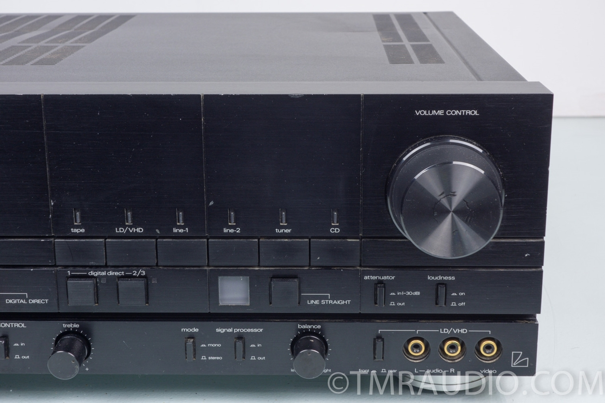 Luxman LV-117 Integrated Digital Stereo Power Amplifier; 110 w / ch