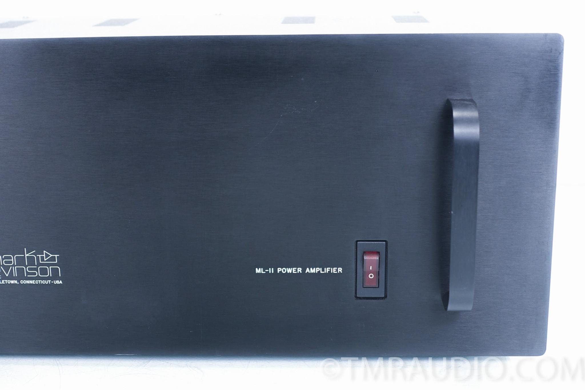 Mark Levinson ML-12 Preamplifier; ML-11 Power Amplifier; CAMACs