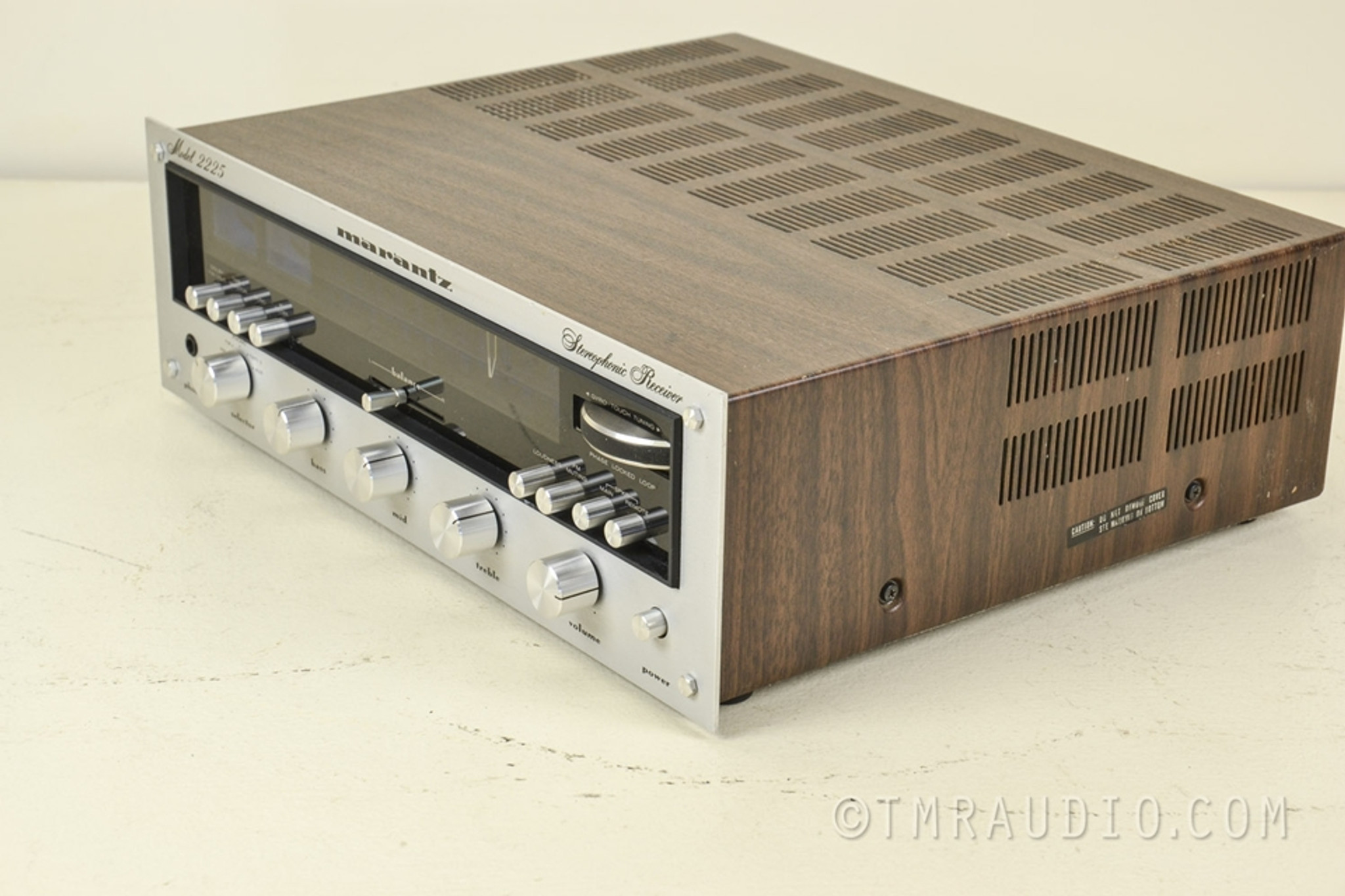 Marantz 2225 Vintage Am Fm Stereo Receiver Just
