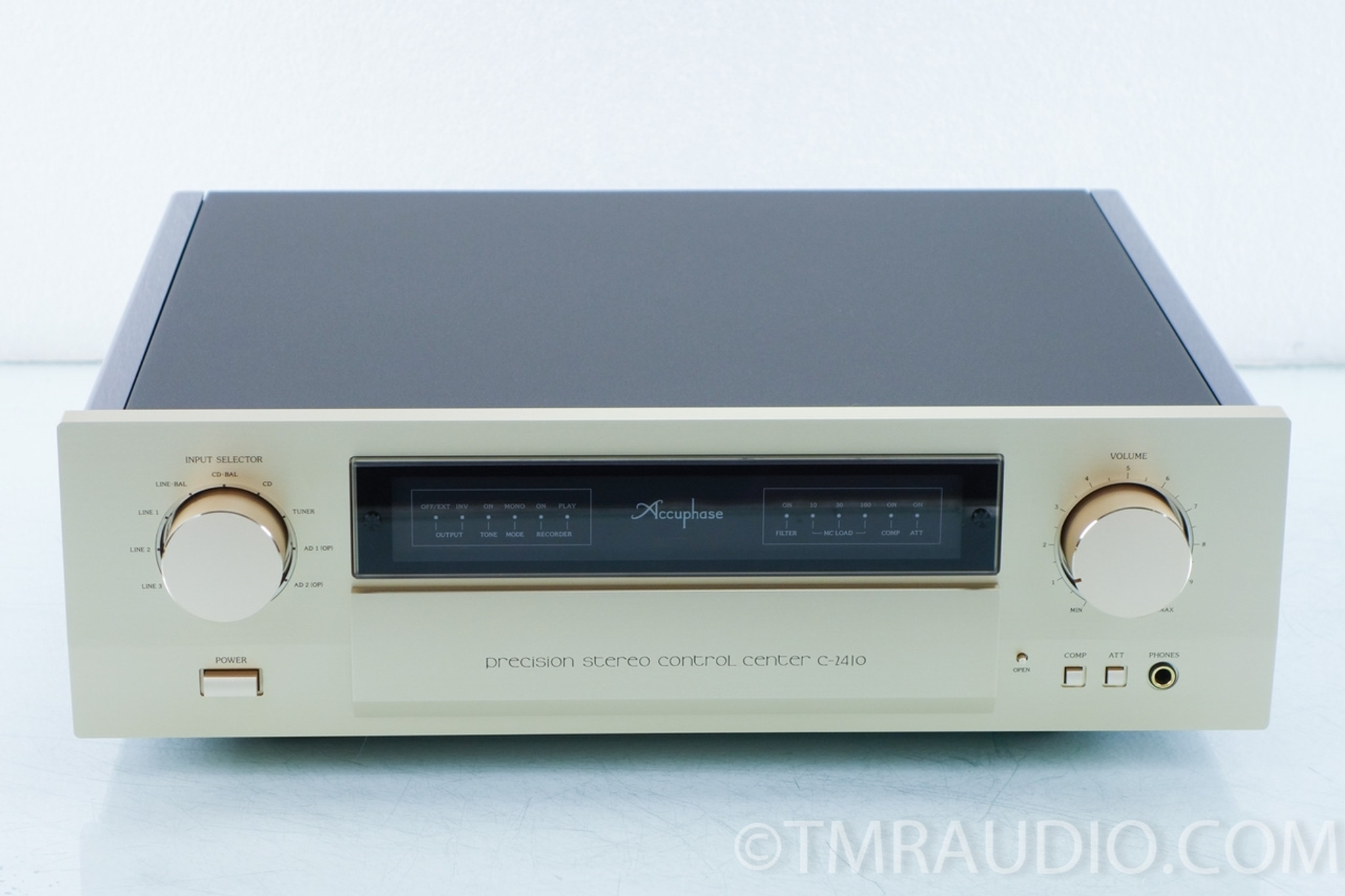 Accuphase c 2410 Manual