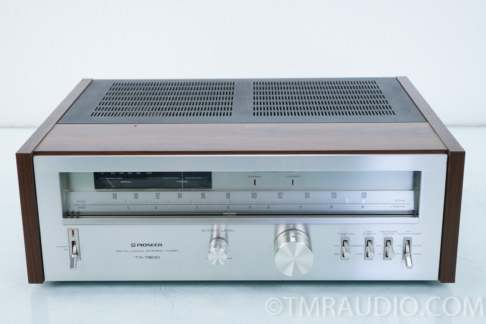 Pioneer Tx-7800 Vintage Am  Fm Tuner - The Music Room-2002