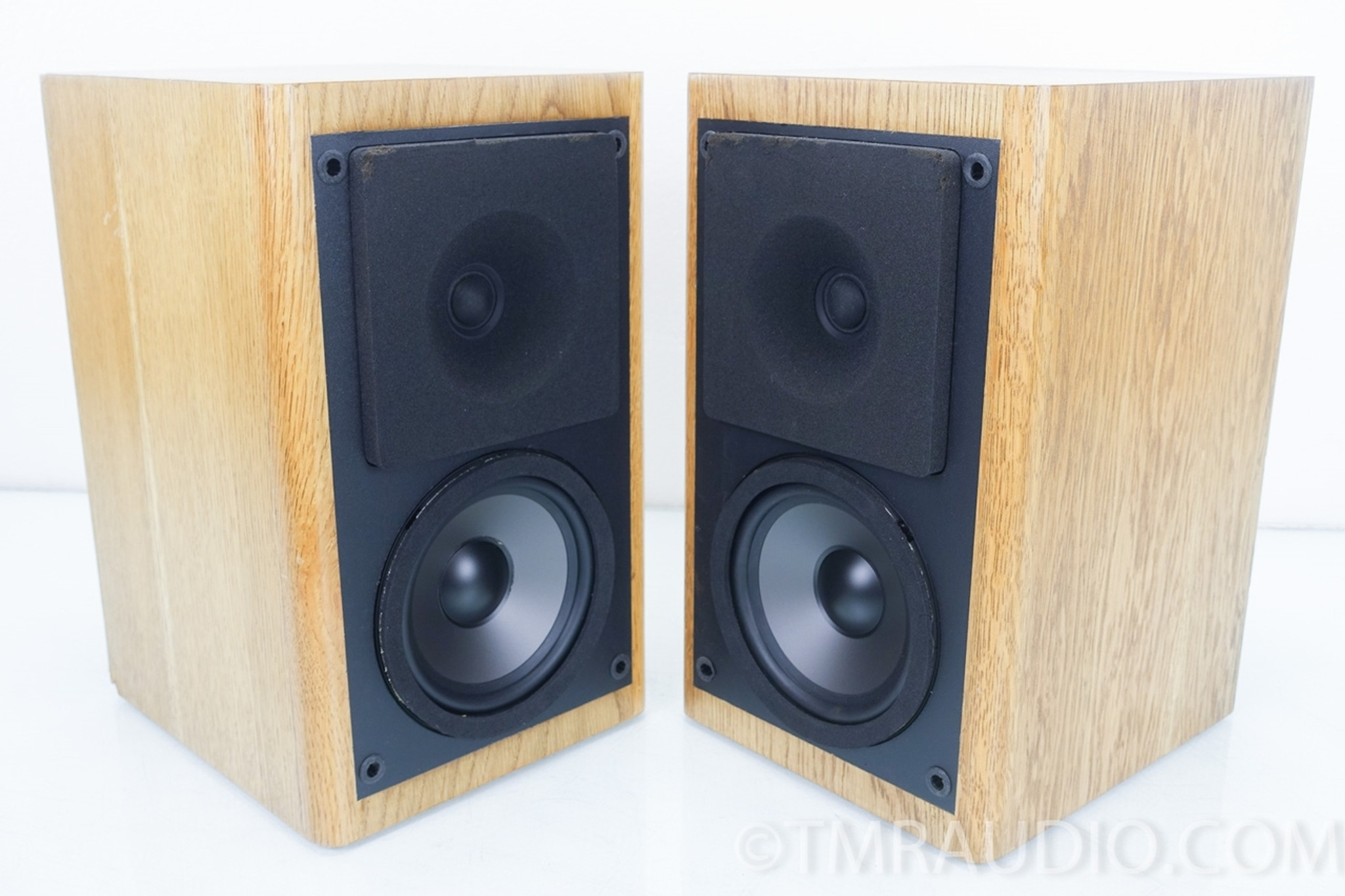 Phase Tech PC80 Vintage Bookshelf Speakers