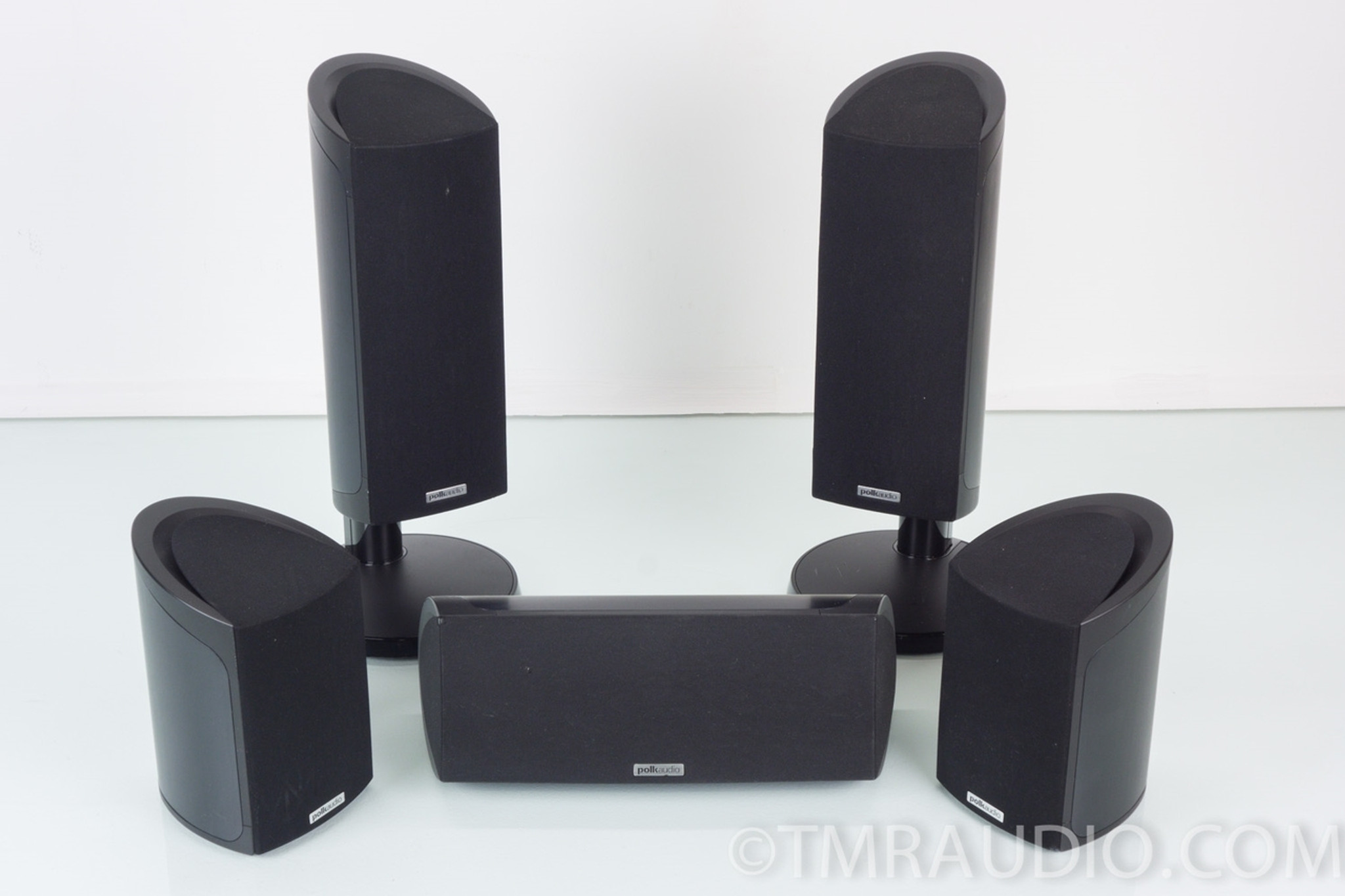 Polk Audio Rm101 4 Speaker Surround System Package The