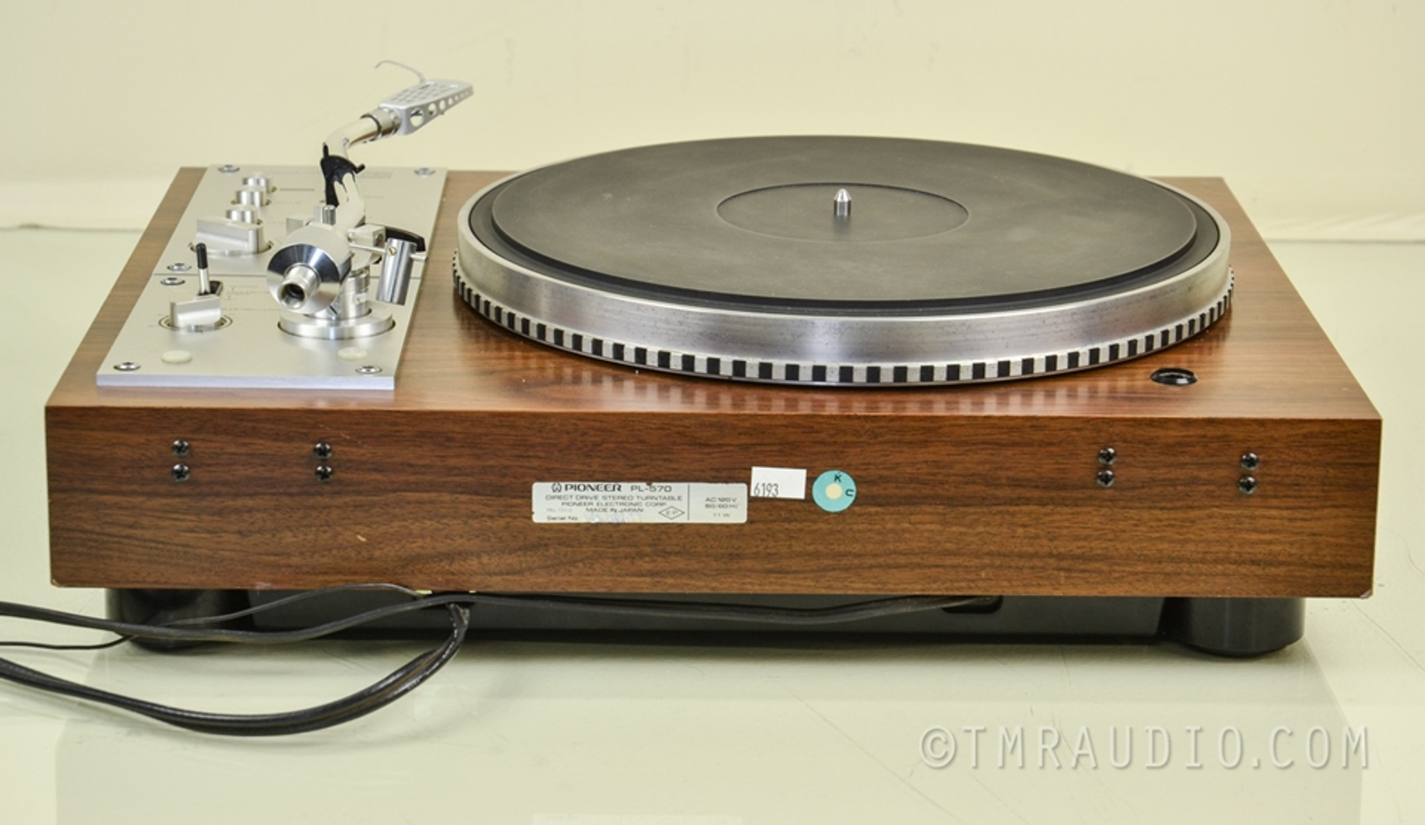 Pioneer Pl 570 Vintage Direct Drive Full Automatic