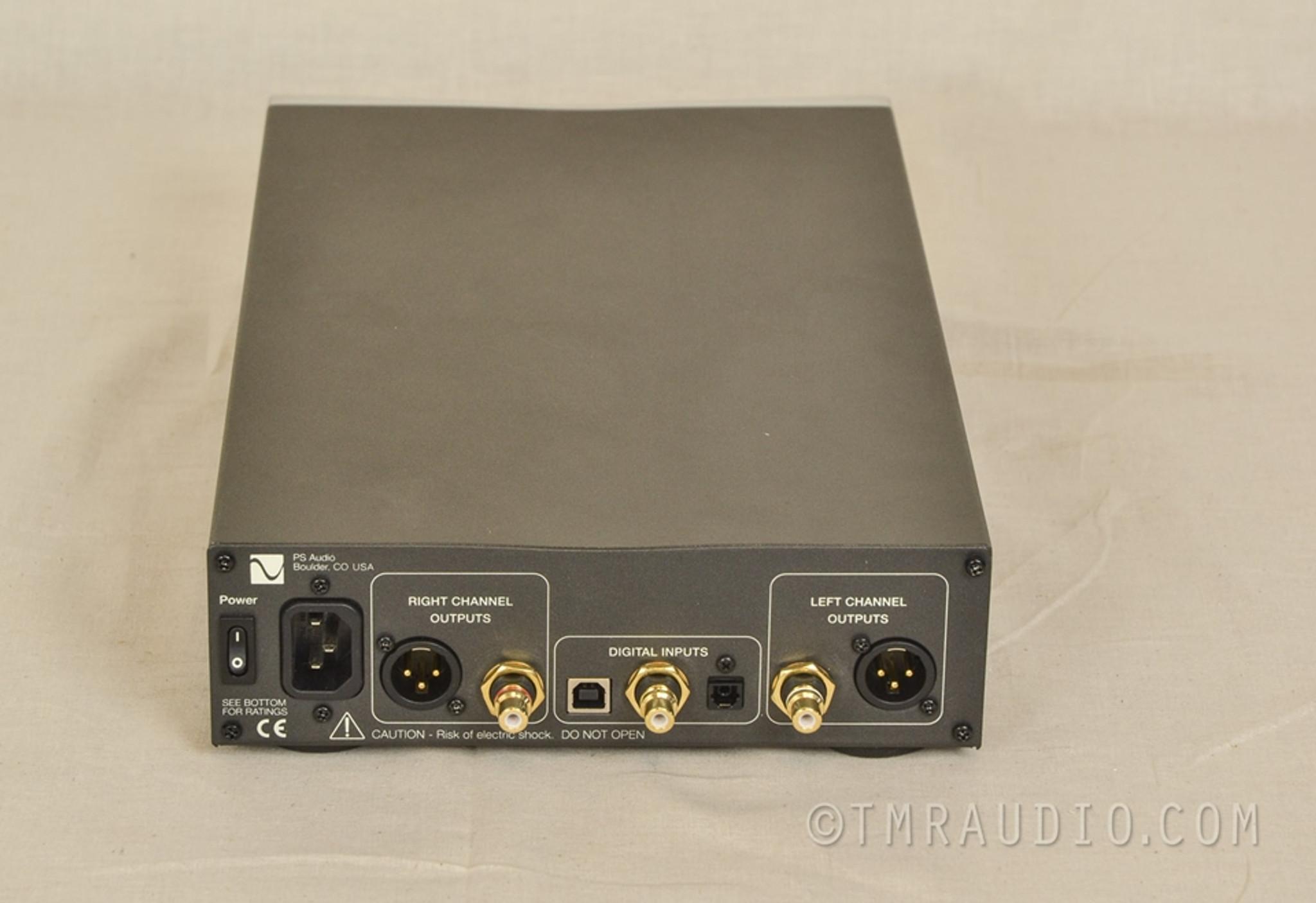 ps audio dl dac digital  analog converter  factory box   room