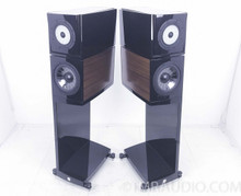 Vienna Acoustics Klimt The Kiss Speakers; Sapele Finish; Pair w/ Stands