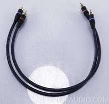 Monster Cable Interlink 400 RCA Cables; Pair 0.5m Interconnects