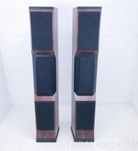 Tyler Acoustics Decade D1 Floorstanding Speakers w/ Stands; Dark Cherry