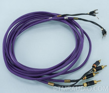Pure Note Paragon Speaker Cables; 11ft. Pair