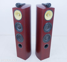 B&W 804 D2; Floorstanding Speakers; Rosenut Pair; Bowers & Wilkins
