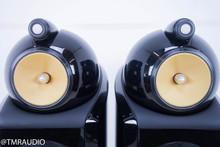 B&W 802D2 Floorstanding Speakers; Piano Black Pair
