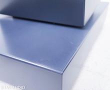Janszen zA2.1 Electrostatic Hybrid Floorstanding ESL Speakers; Natural Honey Ash Pair