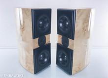 Acoustic Zen Adagio Jr. Bookshelf Speakers; Mable Burl Pair