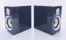 B&W CM1 S2 Bookshelf Speakers; Piano Black Pair
