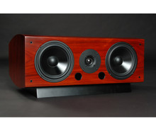 LSA LCR Center Channel / Surround Speaker; Single; Rosewood w/ Base (New Old Stock)