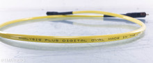 Analysis Plus Digital Oval RCA Digital Coaxial Cable; Single 1m Interconnect