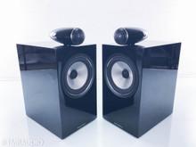 B&W 705 S2 Bookshelf Speakers; Gloss Black