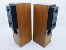 KEF Reference Series 104-2 Floorstanding Speakers; Vintage Walnut Pair; 104.2