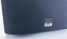 B&W 686 Bookshelf Speakers; Black Ash Pair