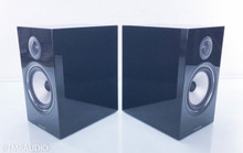 B&W 706 S2 Bookshelf Speakers; Gloss Black Pair