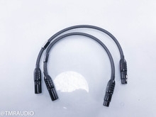 Wireworld Silver Eclipse 7 XLR Cables; 0.5m Pair Balanced Interconnects