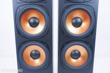 Klipsch RF3 Reference Series Floorstanding Speakers; Black Pair; RF-3 (No Grills)