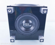 "REL T7 Powered 8"" Subwoofer; Piano Black"