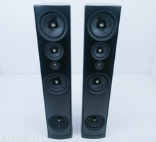 PSB Synchrony One Floorstanding Speakers; Black Pair w/ Soundocity Outriggers