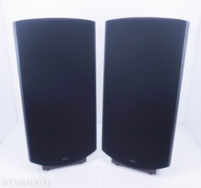 Quad ESL 2912 Electrostatic Floorstanding Speakers; Black / Rosewood Pair