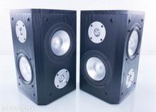 TruAudio BLU-5 SUR Satellite / Surround Speakers; Black Pair (New / Old Stock)