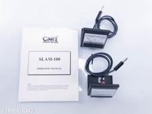 Cary SLAM-100 Mono Tube Power Amplifier; Chrome & Black Pair
