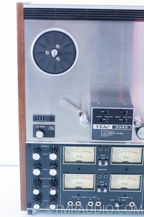 Teac Vintage 3340 Reel To Reel Tape Recorder As Is The