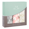 3-Pack Silky Soft Swaddles - Pretty Petals