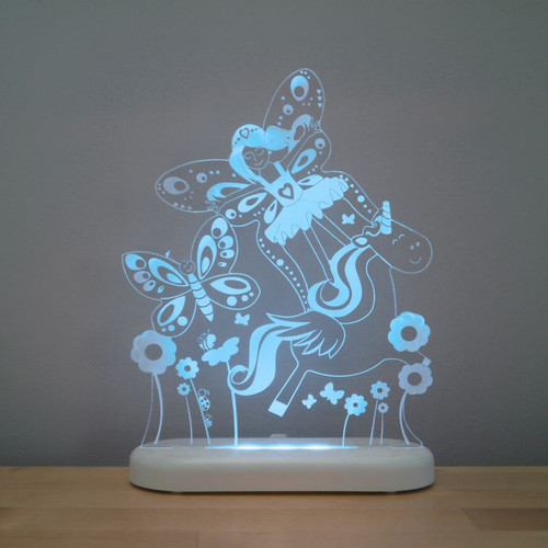 Aloka Night Light Fairy Land Aqua Blue
