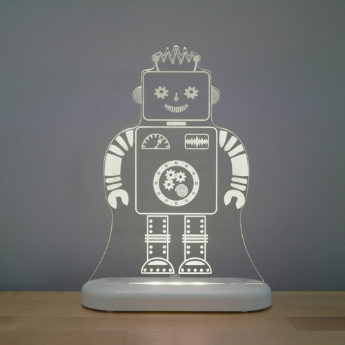 Aloka Lights Robot Night Grey