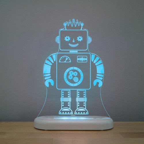 Aloka Lights Robot Night Blue