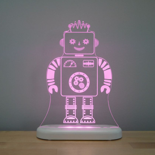 Aloka Lights Robot Night Pink
