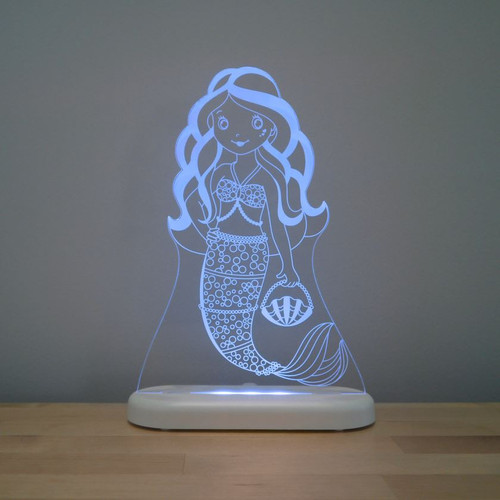 Aloka Night Light Mermaid Aqua