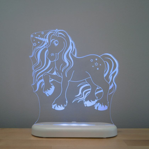 Aloka Lights Unicorn Night Light Blue