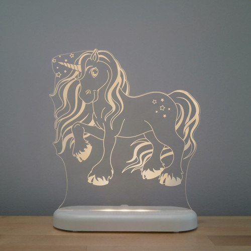 Aloka Lights Unicorn Night Light Beige