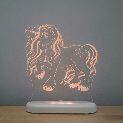Aloka Lights Unicorn Night Light Orange